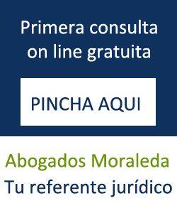En abogados Moraleda. La primera consulta online es gratuita
